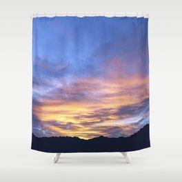 """Sunrise Horizon 2"" by Murray Bolesta Shower Curtain"