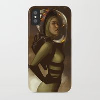 spaceman iPhone & iPod Cases featuring Spaceman by Kelly Perry