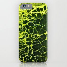 Cells - Slime Green iPhone Case