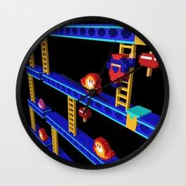 Inside Donkey Kong stage 4 Wall Clock