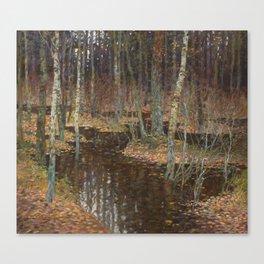 Autumn flood Canvas Print