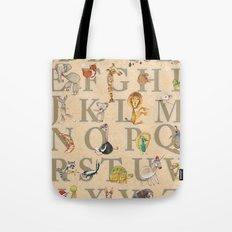 ABC Animals Tote Bag