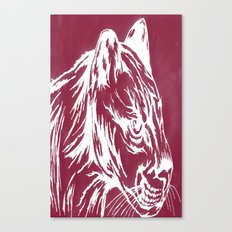 red cougar Canvas Print