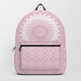 Boho Pink Mandala Backpack