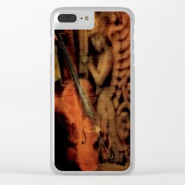 """""""Guardian Angel"""" Clear iPhone Case"""