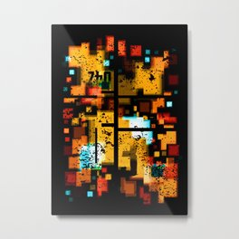 Abstract Composition #3 Metal Print