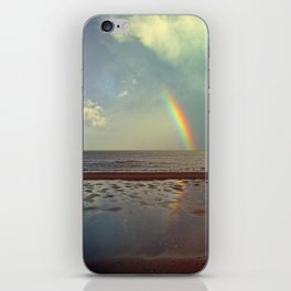 Rainbow Over Sea iPhone Skin