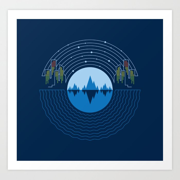 Soundscape Art Print