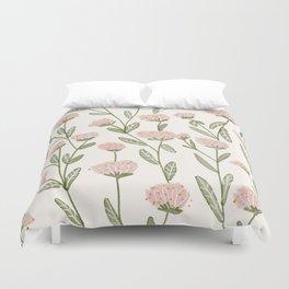 Rose Garden Pattern Duvet Cover