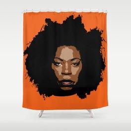 Queen Vee Shower Curtain