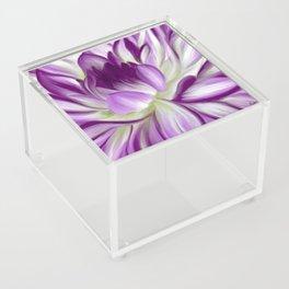 Maureen's Dahlia Acrylic Box