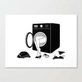 Washing Bad Memories Canvas Print
