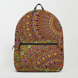 Magic Ornate Garden Mandala Backpack