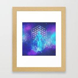 Sacred Geometry (Illumination) Framed Art Print