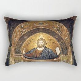 CHRISTUS PANTOKRATOR Rectangular Pillow