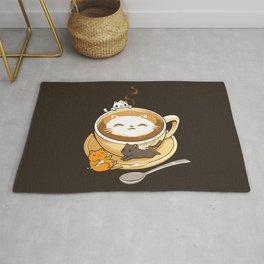 Latte Cat Rug