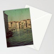 Venice postcard Stationery Cards