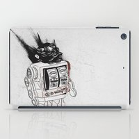 army iPad Cases featuring robot army by Tom Kitchen