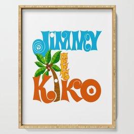 Jimmy Meets Kiko Serving Tray