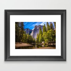 Mighty Mountains Framed Art Print