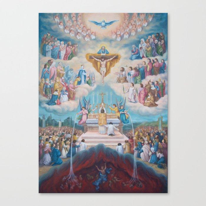 COMMUNION OF THE SAINTS Leinwanddruck