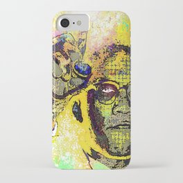 Icons-Malcolm X iPhone Case