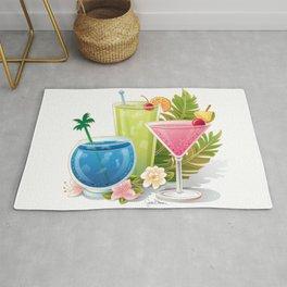 Tropical Drinks#1 Rug