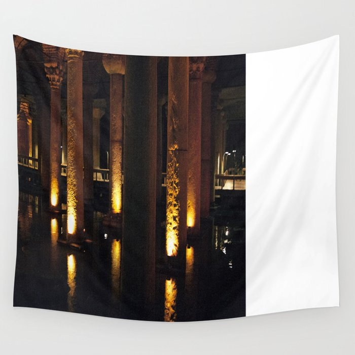 Light Underground!  Wall Tapestry