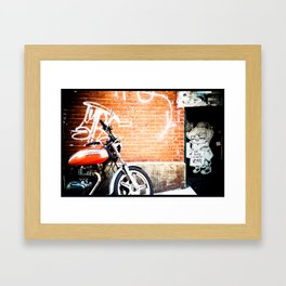 Positive Vibes Framed Art Print