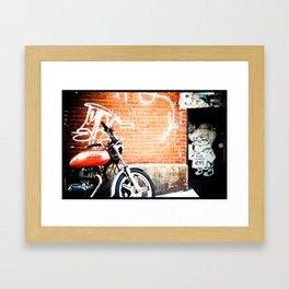 Positive Vibes Framed Art Print