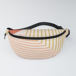 Lines & Circle 02 Fanny Pack