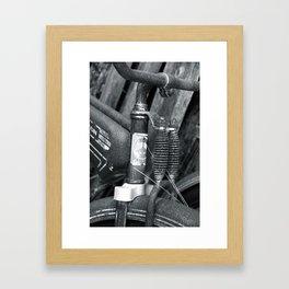 Firestone Bicycle Framed Art Print