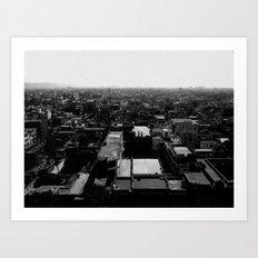 Jaipur View Art Print