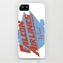 Falcon Airlines iPhone Case
