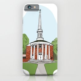 Dunning Memorial Chapel iPhone Case