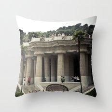 Barcelona. Park Güell Throw Pillow