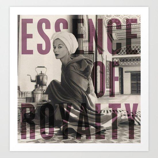Essence of Royalty Art Print
