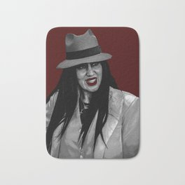 Zoot Suit Latina in New Mexico Bath Mat