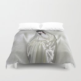 """say no to patriarchy / """"the madonna"""" Duvet Cover"""