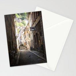 Urban Side Street. Stationery Cards