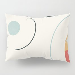 Clean Flow Geometry 8 Pillow Sham