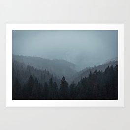 Truckee, CA Art Print