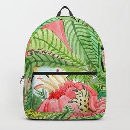 Leaves, Jungle, Snake Backpack