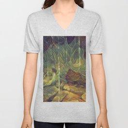 """Fantasy Woods"" Unisex V-Neck"