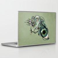 creativity Laptop & iPad Skins featuring Flowing Creativity by Enkel Dika