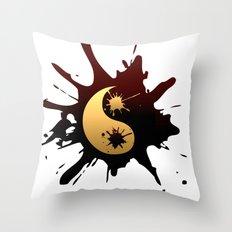 Ying-Yang Throw Pillow