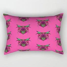 Tribal Cats 2 Rectangular Pillow