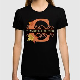 Thanksgiving C Monogram T-shirt