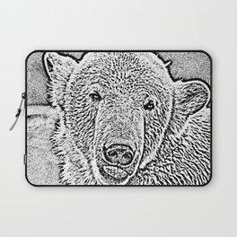 Ultra Sketch Polar Bear Laptop Sleeve