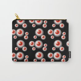 glass eyes - red Carry-All Pouch